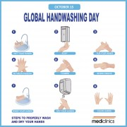 October 15-Global Handwashing Day
